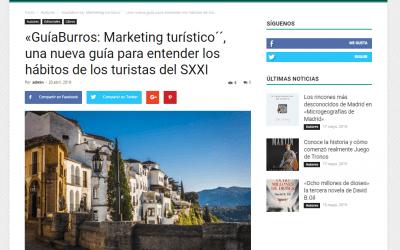 Reseña sobre el GuíaBurros: Marketing turístico en Casa de Letras